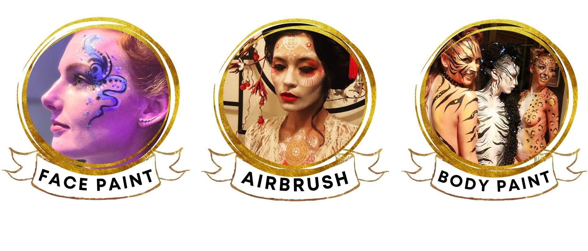 Face Paint, Airbrush, & Body Paint by Audette Sophia