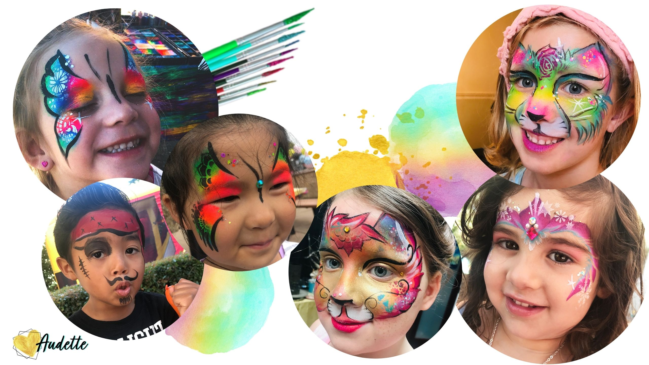 Face Paint by Audette Sophia in Sonoma County, California